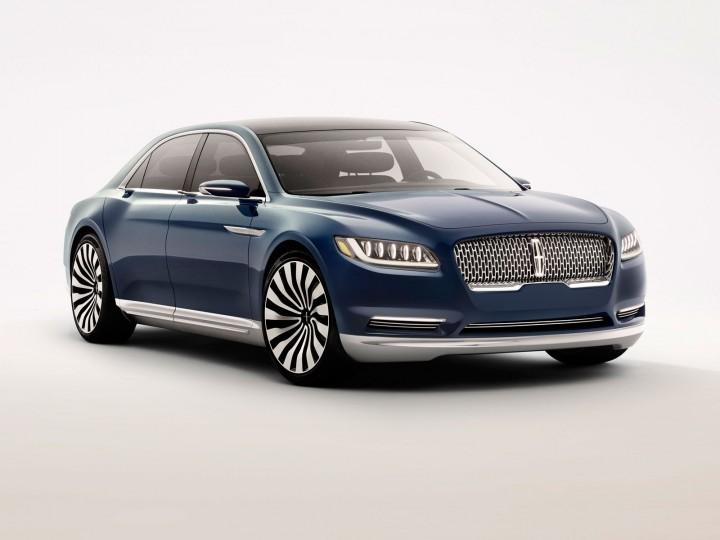 Lincoln Continental Concept Hints At 2016 Full Size Sedan