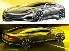 VW Sport Coupé Concept GTE: design gallery