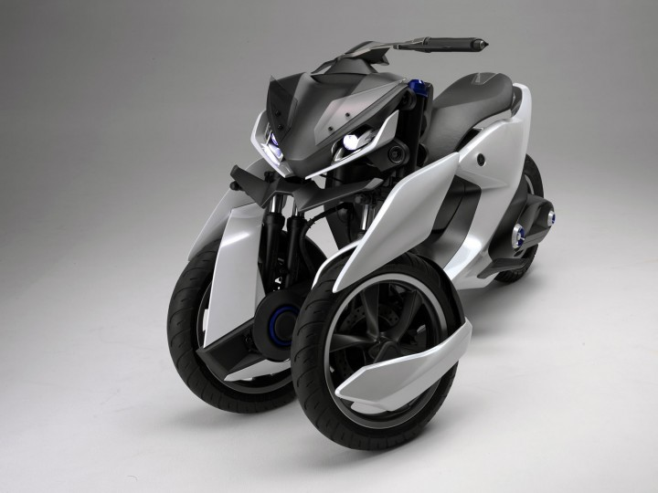 Yamaha Presents 03gen Three Wheel Scooter Concepts Car Body Design