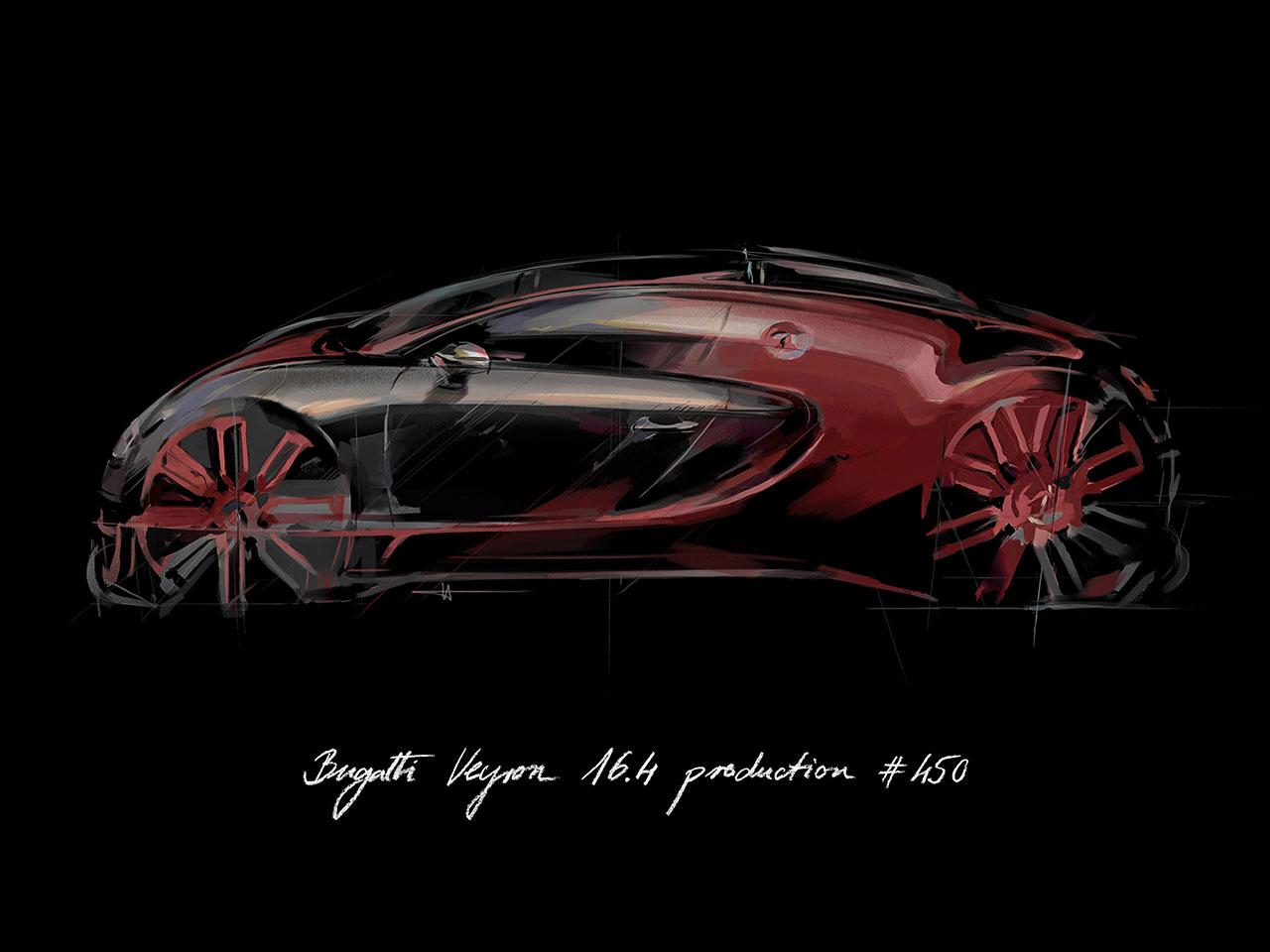 Bugatti Veyron 16 4 Grand Sport Vitesse La Finale Design Sketch