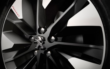 Peugeot Foodtruck Concept - Wheel detail