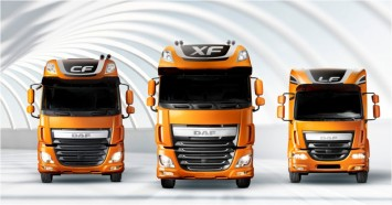 DAF CF, XF and LF line-up