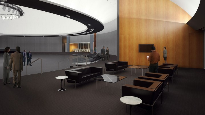 GM Design Dome Renovation - Renderings by Roncelli Inc