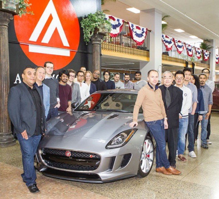 Jaguar partners with Academy of Art University