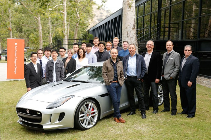 Jaguar partners with Art Center College of Design