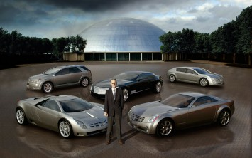 Wayne Cherry with Cadillac Cien, Vizon, Sixteen, Evoq and Imaj Concepts