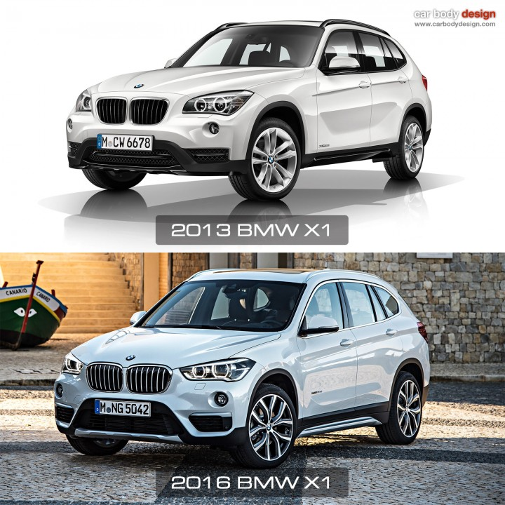 1st vs 2nd generation BMW X1 - Design Comparison