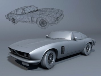 ISO Grifo free 3D model