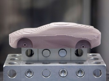Opel Design Milling Center - Milled Scale Model