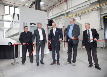 Opel Design Milling Center inauguration