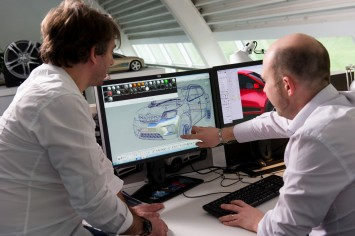 Renault KWID Design Process Serge Cosenza and Mickael Renevier Autodesk Alias Screenshot