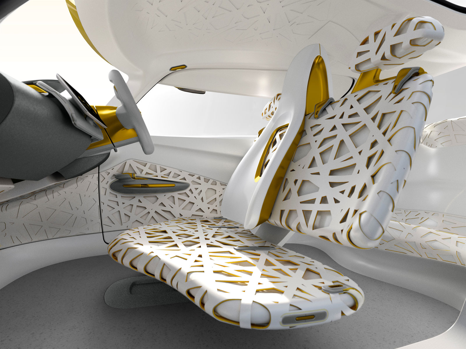 Renault Kwid Concept Interior Car Body Design