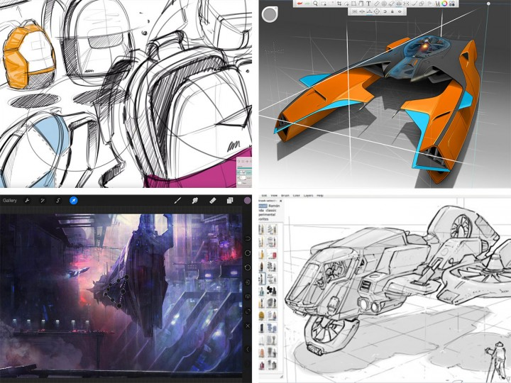 The Top Ten Photoshop Alternatives For Drawing And Painting Car Body Design
