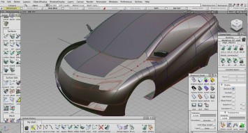 Toruk Electric Car Concept - A-Class Surfaces - Alias Screenshot