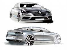 Renault Talisman sedan: design gallery