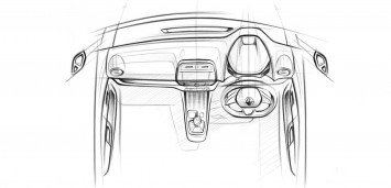 Renault Talisman Interior Design Sketch by Moneet Chitodra