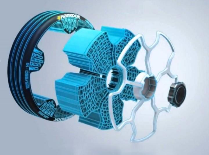 2017 Hankook Iflex Tire Concept