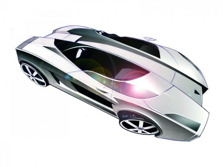 Concept Cars On Auction 2005 Lamborghini Concept S Car Body Design