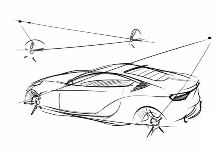 Quick Car Sketching Technique Car Body Design