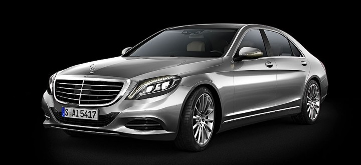 Mercedes-Benz S600 3D model - Final render before Photoshop