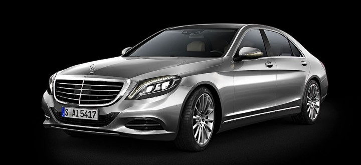 Mercedes-Benz S600 3D model - Final render after Photoshop