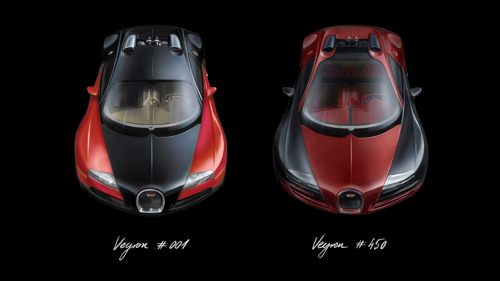 Bugatti Veyron The Number 1 And 450 Design Sketch Car Body Design