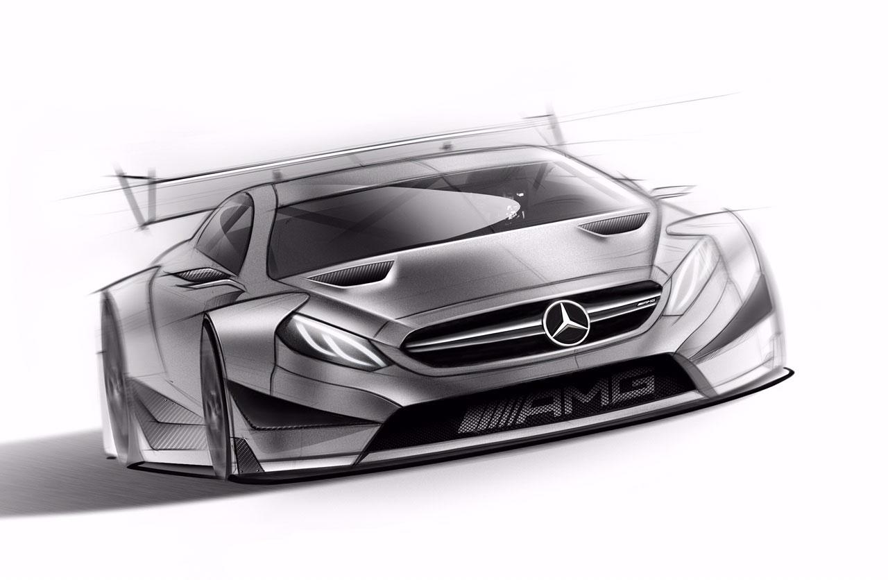 Mercedes Amg C 63 Dtm 2016 Race Car Design Sketch Car Body Design