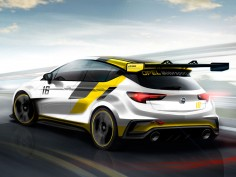 Opel New Astra for the Racetrack: preview sketches