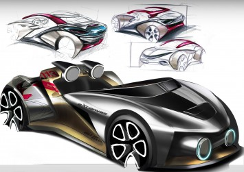 Seat RudeBody Concept Design Sketches