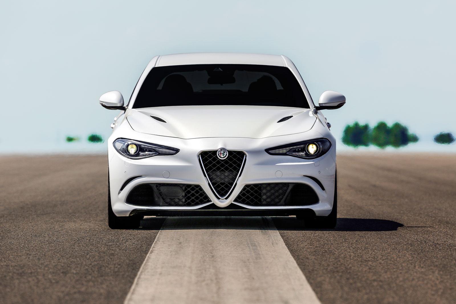 Alfa Romeo Giulia Quadrifoglio Car Body Design