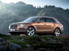 Bentley reveals the Bentayga, the most exclusive SUV in the world