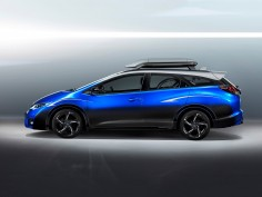 Honda Civic Tourer Active Life Concept targets cycling enthusiasts