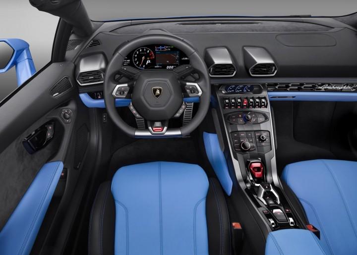 Lamborghini Huracan Spyder Lp 610 4 Car Body Design