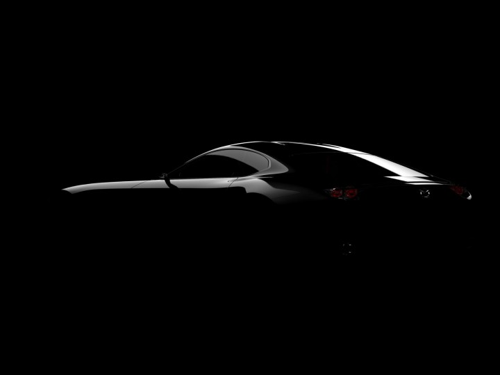 Mazda teases sportscar concept ahead of Tokyo Show