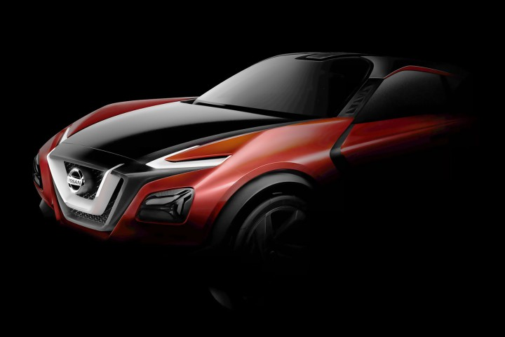 Nissan Crossover Concept - Preview Design Render
