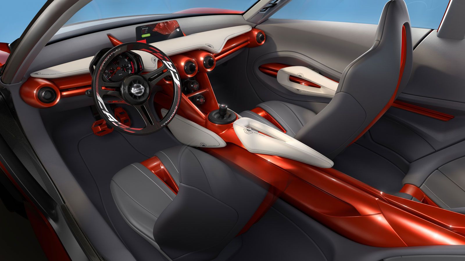 Nissan Gripz Concept Interior - Car Body Design