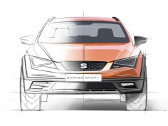 Seat Leon Cross Sport Concept: Preview Design Sketches