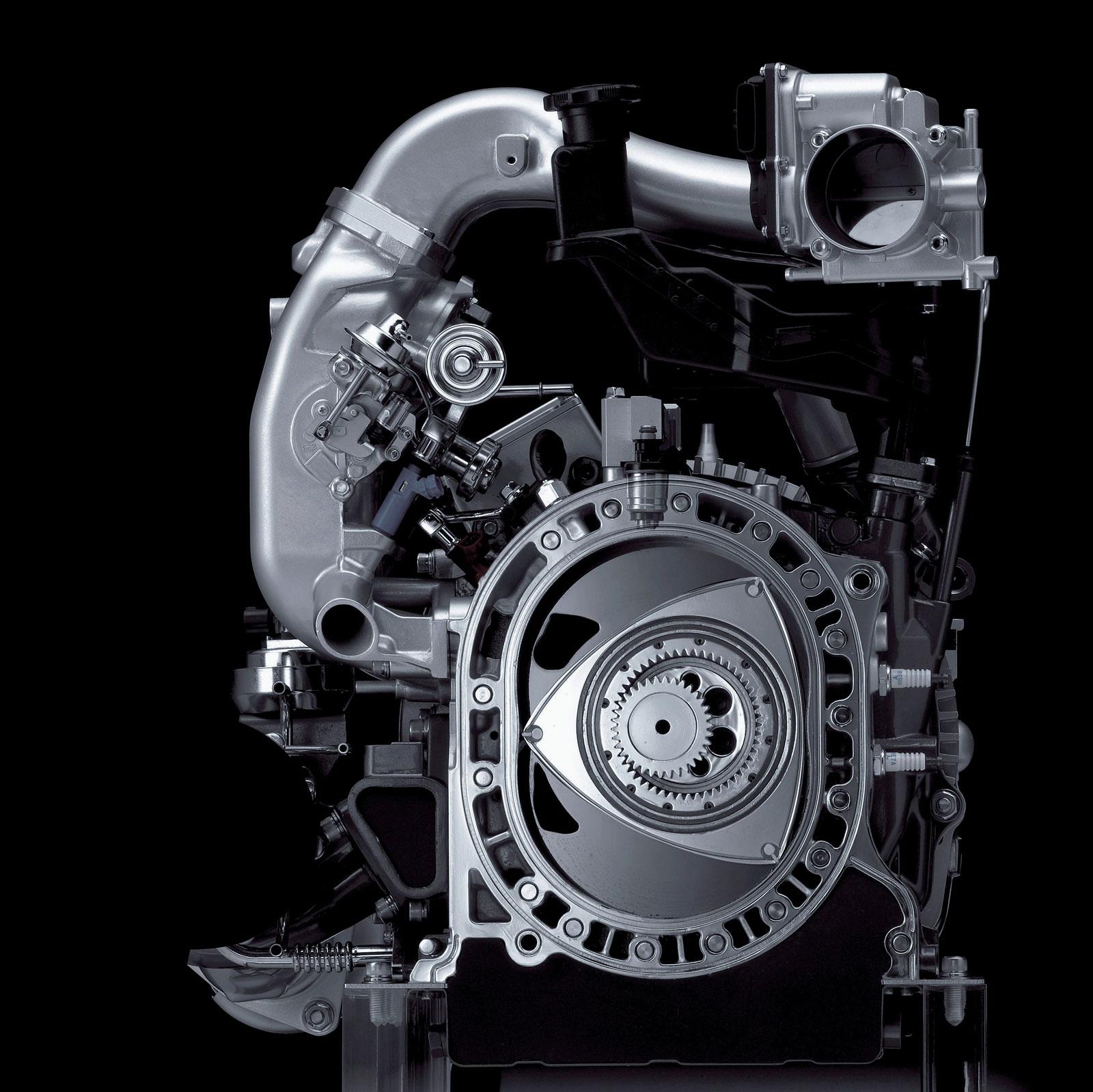 Mazda RX 8 RENESIS Rotary engine and powertrain - Car Body