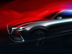 Mazda previews next-gen CX-9 crossover SUV