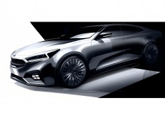 Kia previews next-generation Cadenza