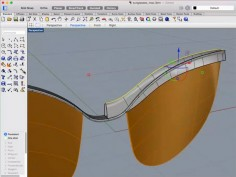 Modeling Sunglasses in Rhino for Mac