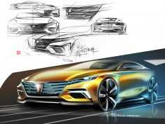 Vision-R Concept defines Roewe