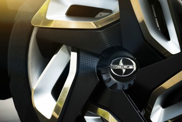 Scion C-HR Concept Wheel detail