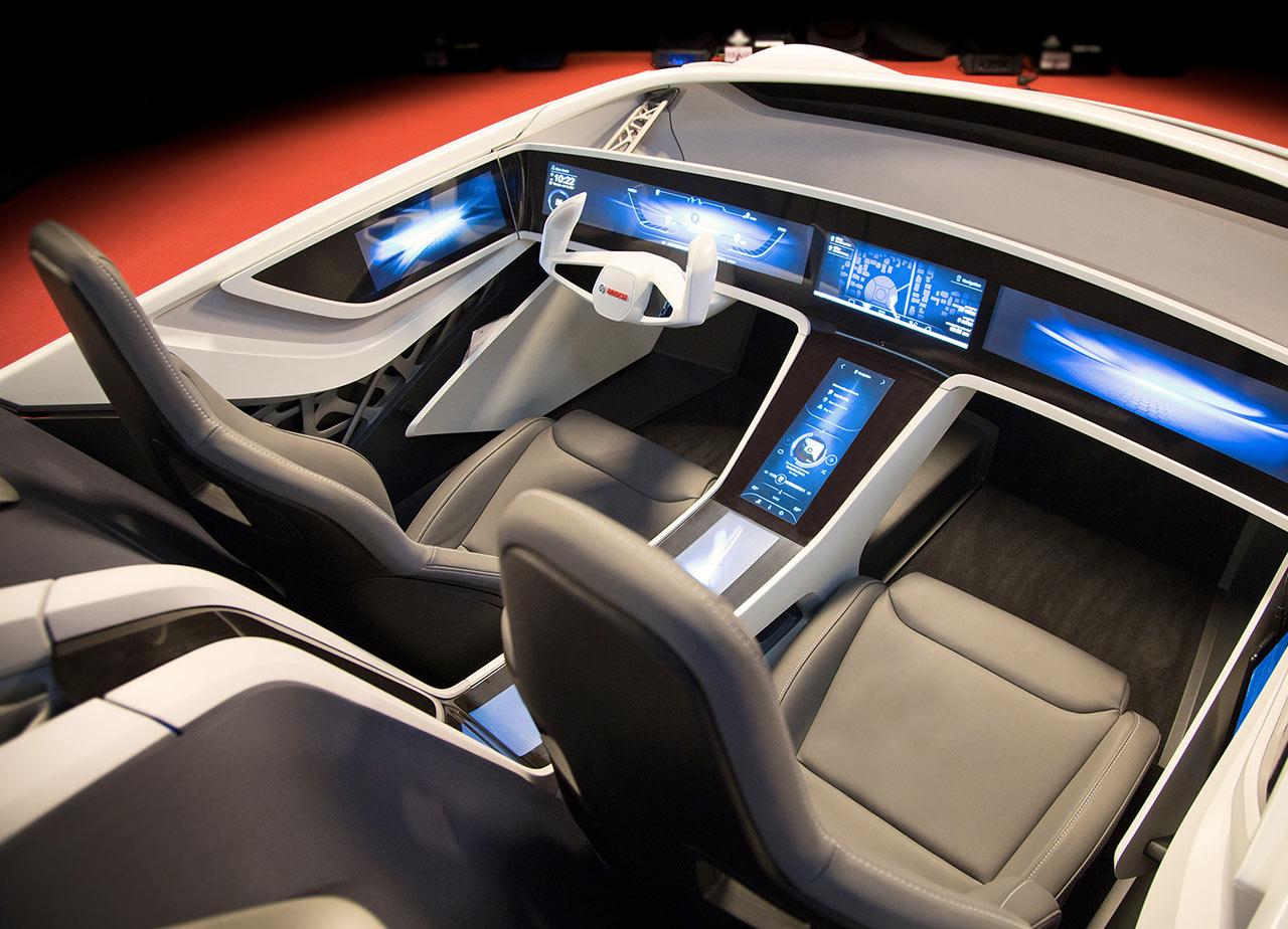 Bosch at CES 2016 - EDAG Cocoon Concept Interior - Car Body Design