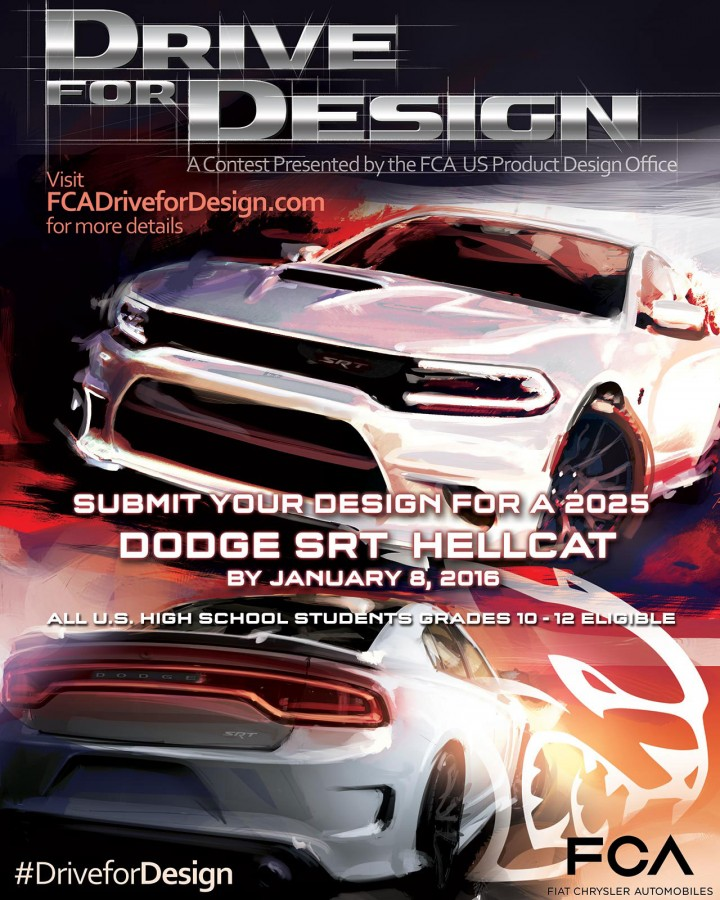 FCA US Drive For Design Contest Poster