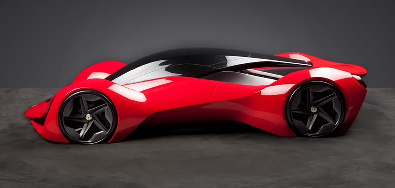 Ferrari Futurismo Concept by CCS - Car Body Design