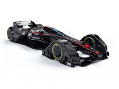McLaren MP4-X Concept explores the future of Formula 1