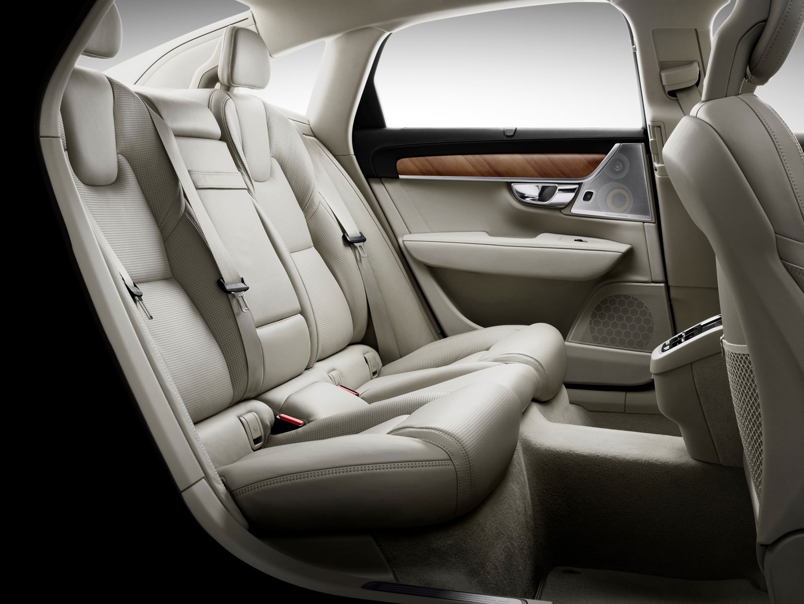Volvo S90 Interior Rear Seats Car Body Design