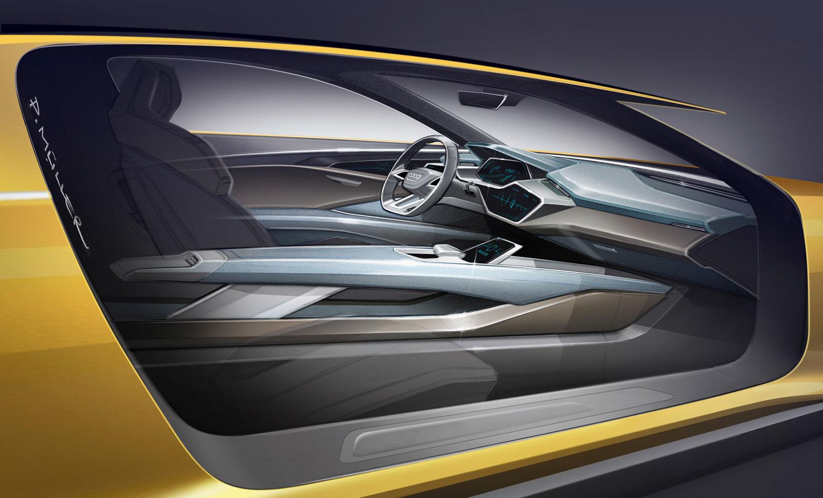 audi h tron quattro concept interior design sketch render