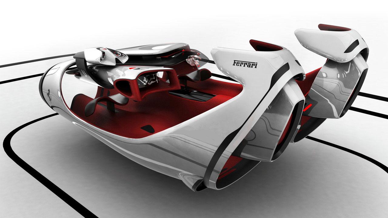 Ferrari Fl Interior Concept